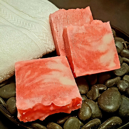 Peppermint Stick Handmade Soap