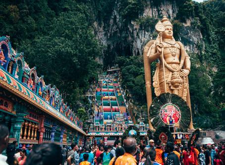 Thaipusam... Hindu festival located at the Batu Caves!