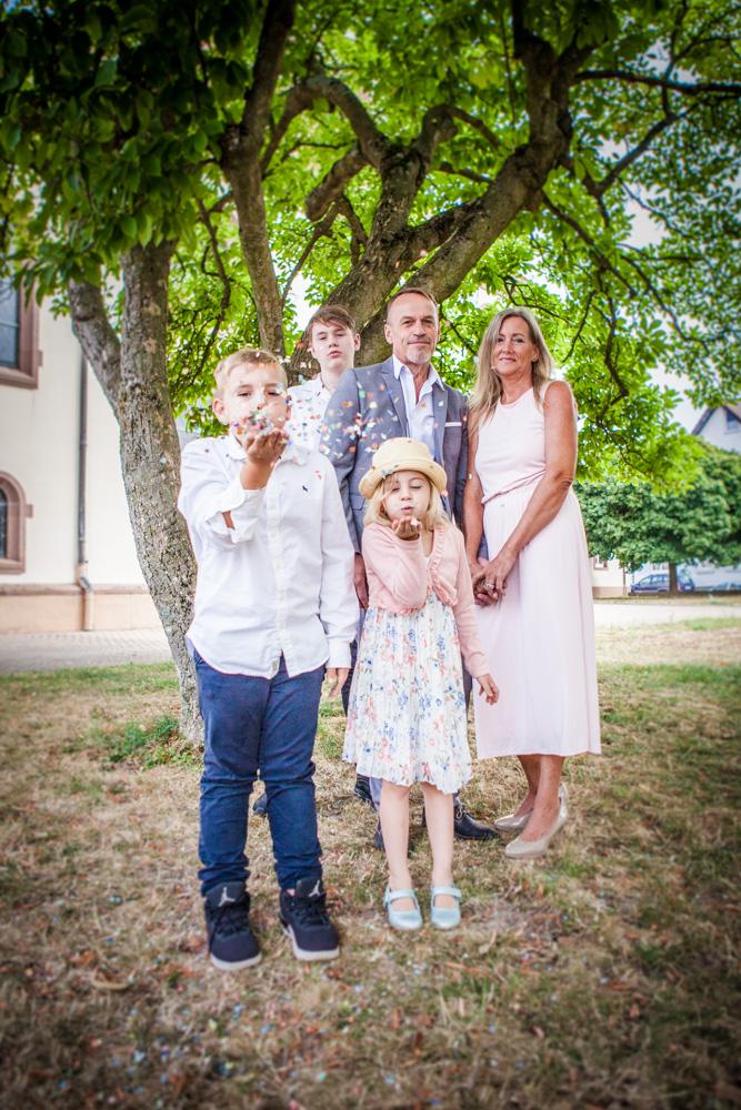 Hochzeit Familienbild