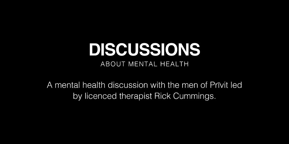 Mental Health Discussion with Rick Cummings (1)