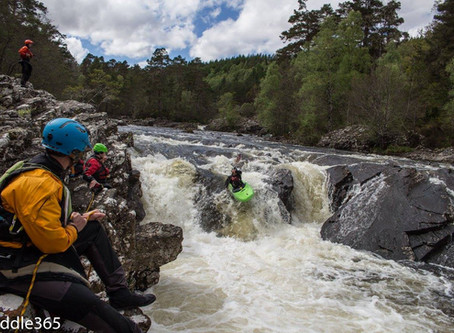 Planning and Visualisation for Whitewater Kayaking