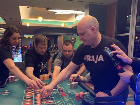 My gambling creates jobs?
