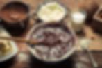 רקע אופן הכנת עוגת שוקולד