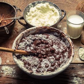 Mousse au chocolat caramélisé