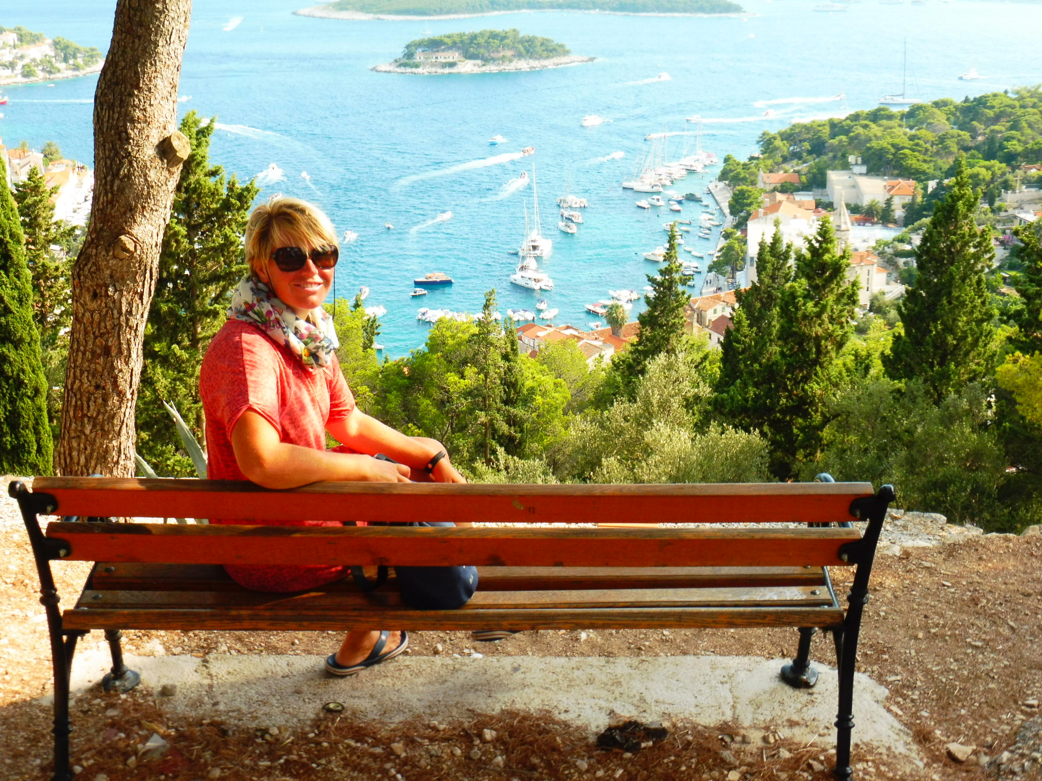 Enjoying Hvar views