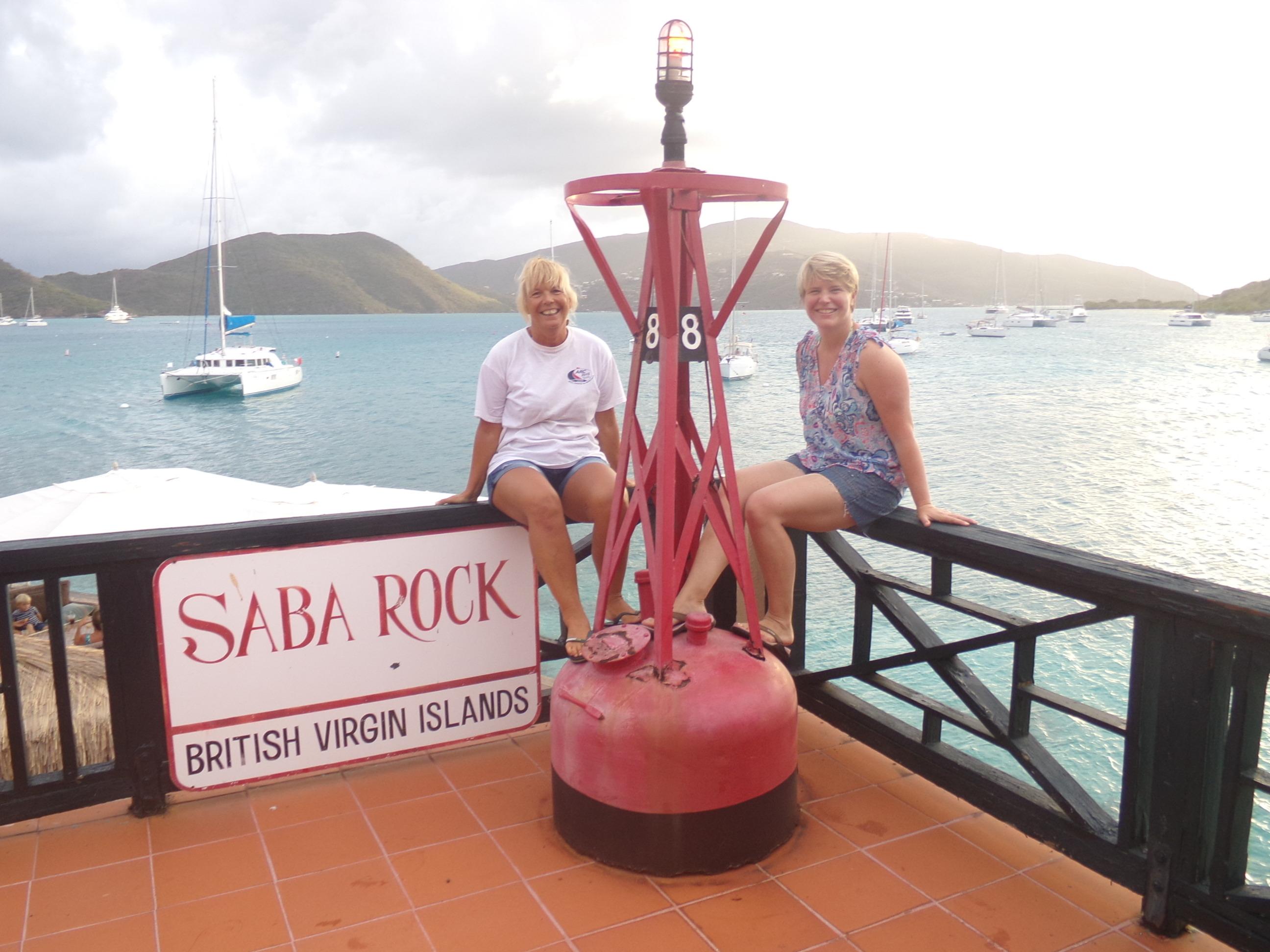 Saba Rock Buoy