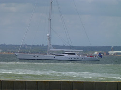 Super Yacht at Cowes.JPG