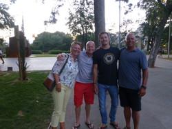 Palma with George & Dan