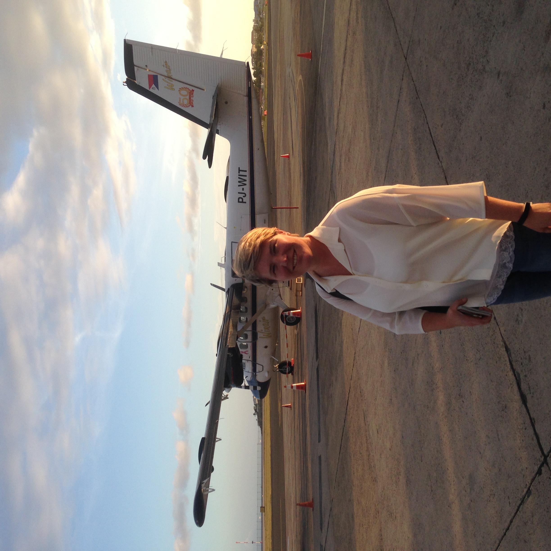Last plane to Beef Island