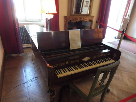 H. 1810 forte-piano played by Franz List
