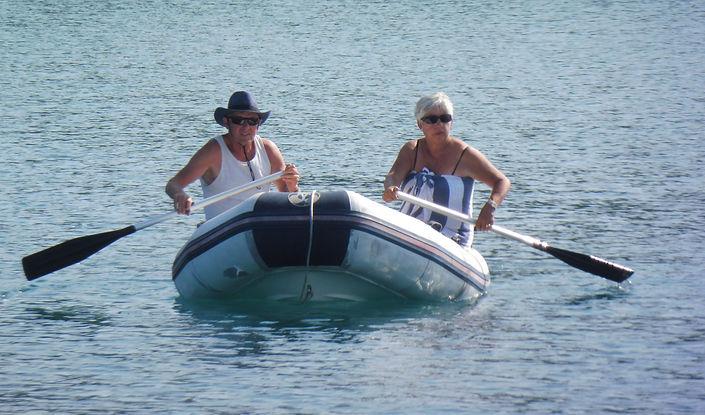 Row row row the boat....JPG