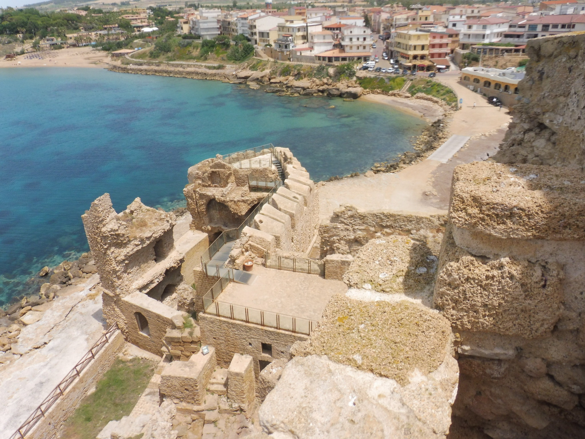 Crotone Castle views
