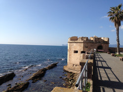 Look out at Alghero