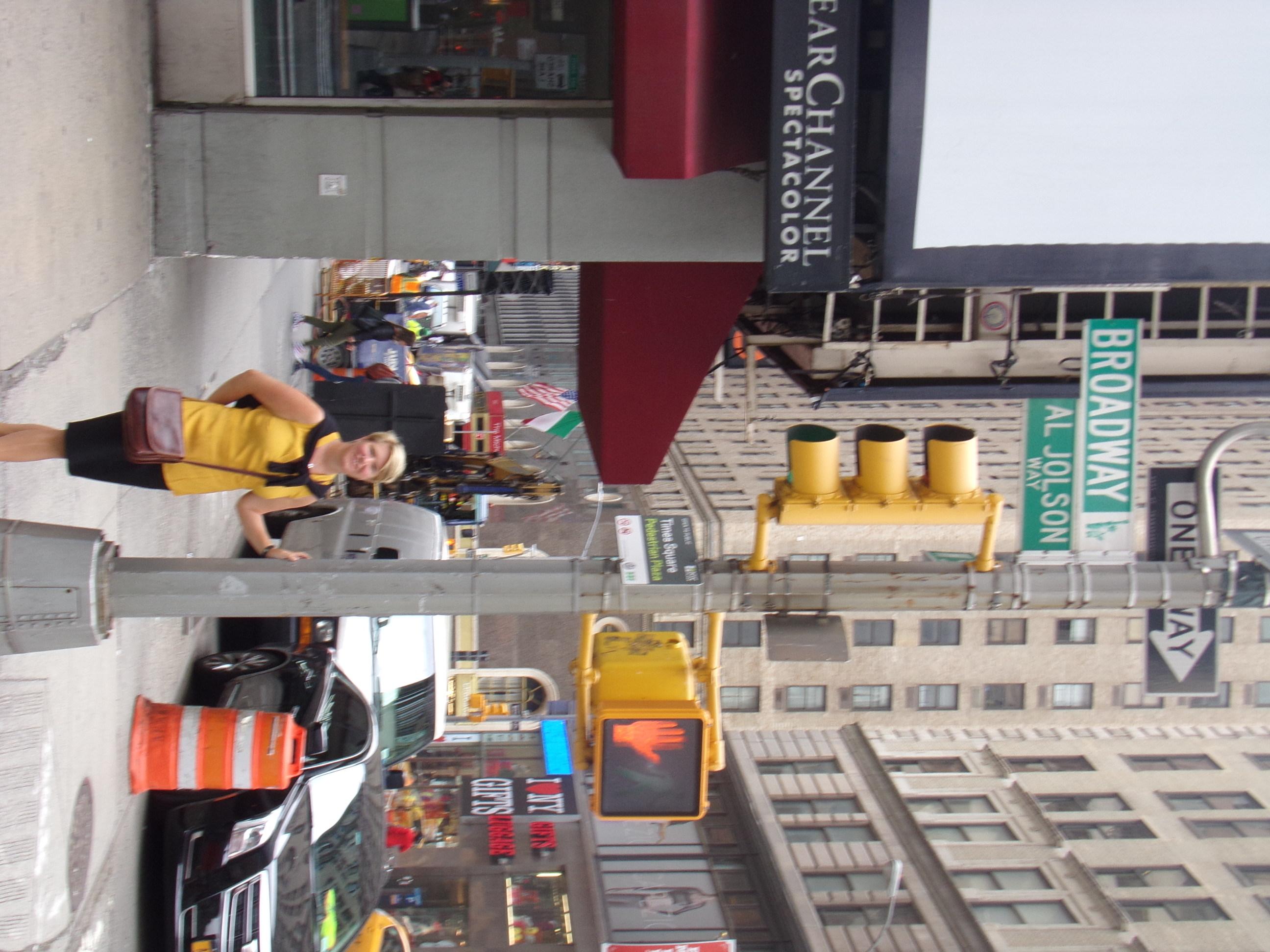 On Broadway!