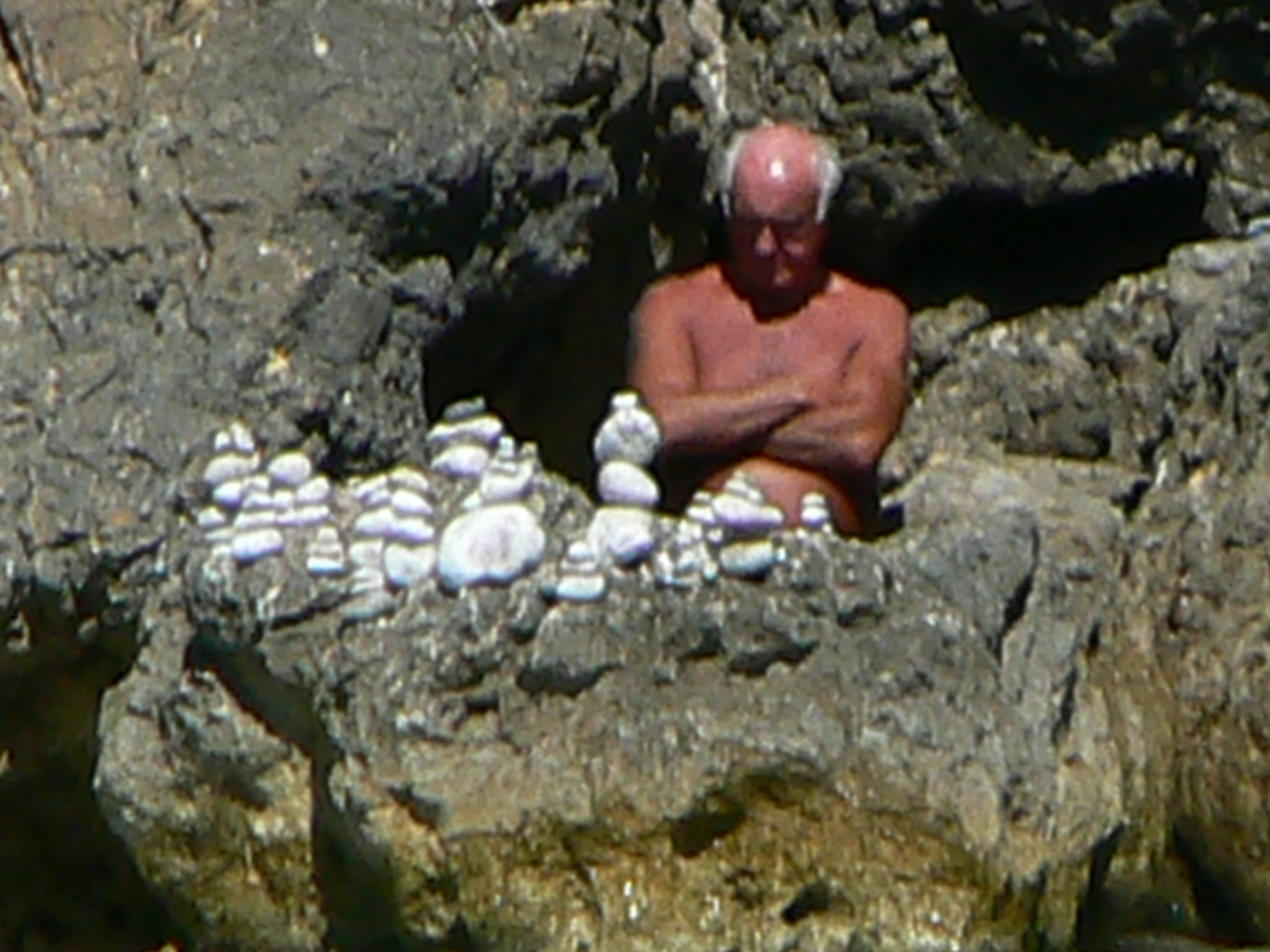 Stone smurf