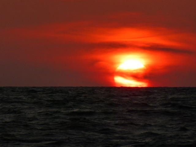 Sunset off of Borkum 2014-10-29-16:35:18