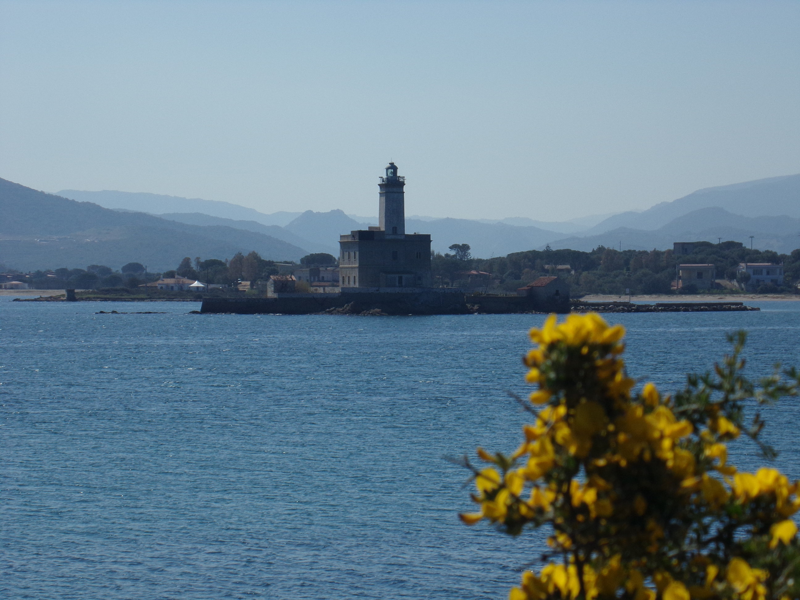Olbia lighthouse