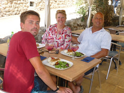 Lunch at Deia