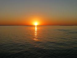 sunset at Olhao.JPG