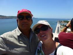 Tourists in Lisbon.JPG