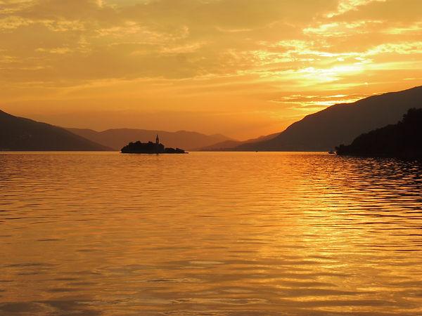 Sunset in Kotor.JPG