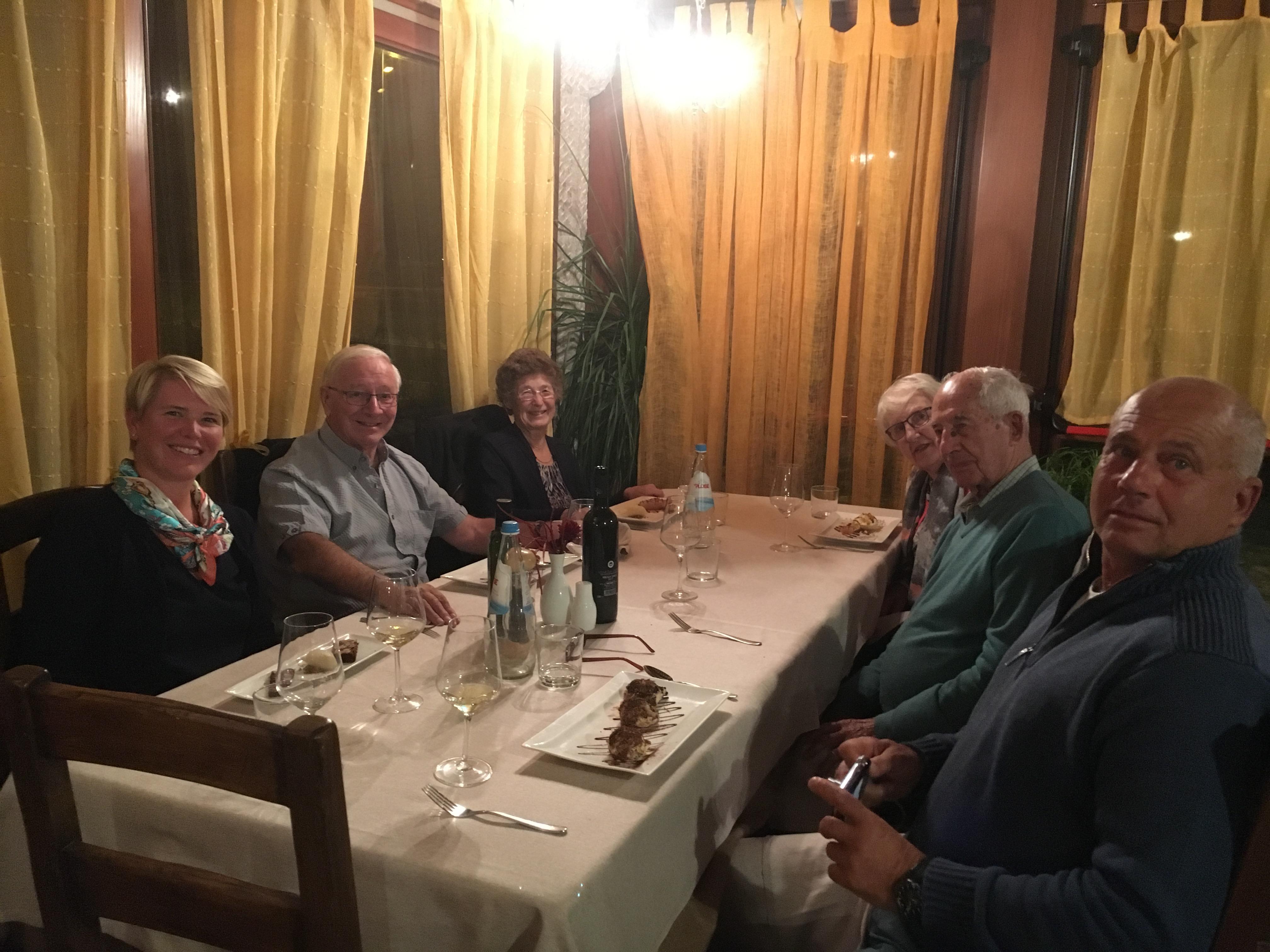 I. Dinner together