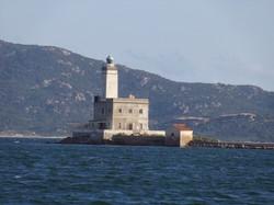 Sailing into Olbia