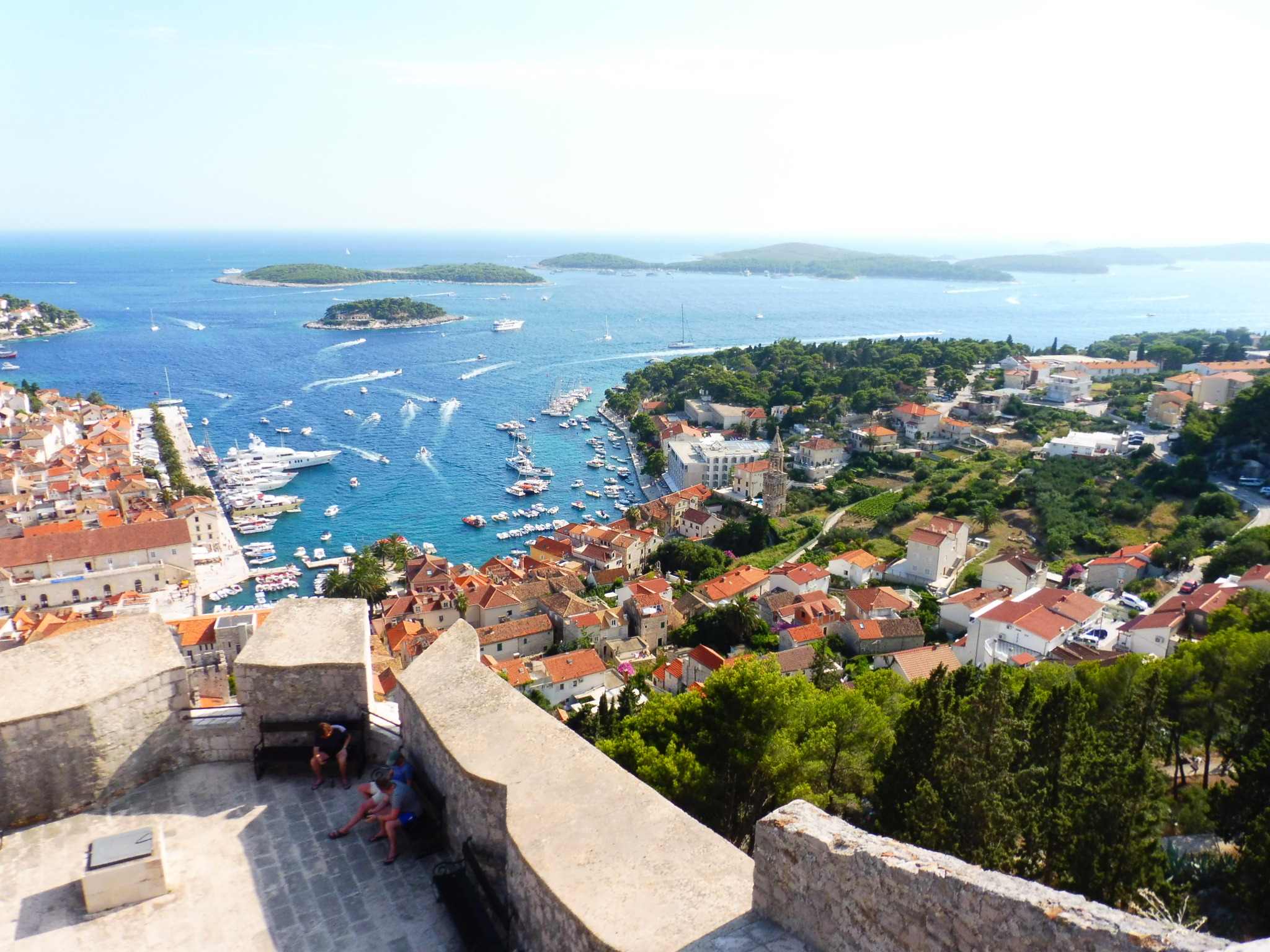Hvar from the castle