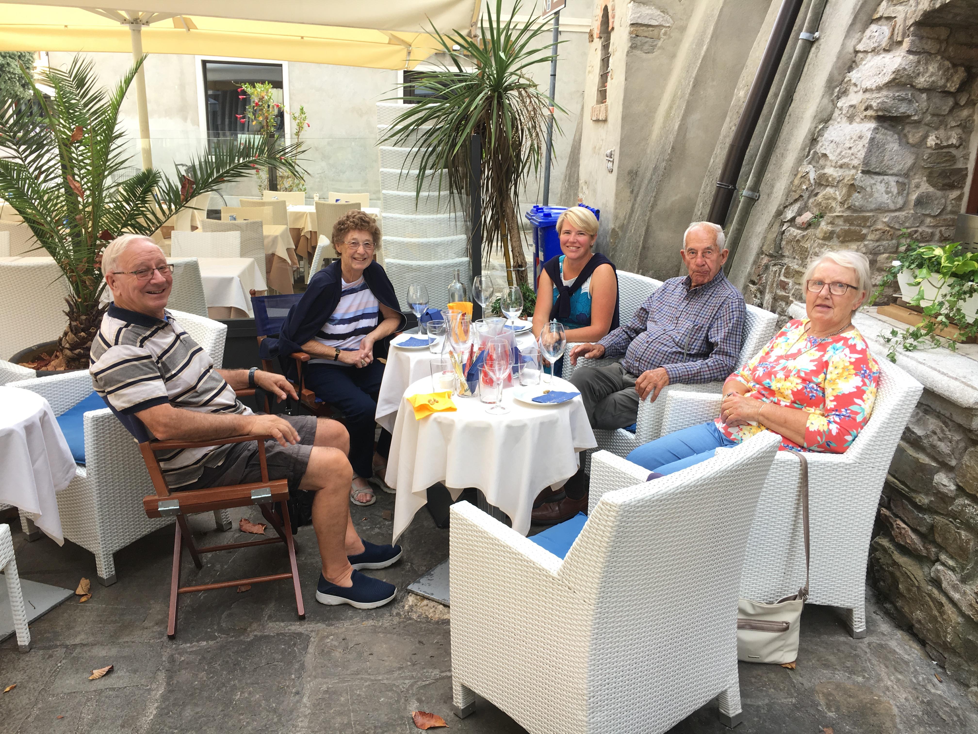 E. Lunch in Grado