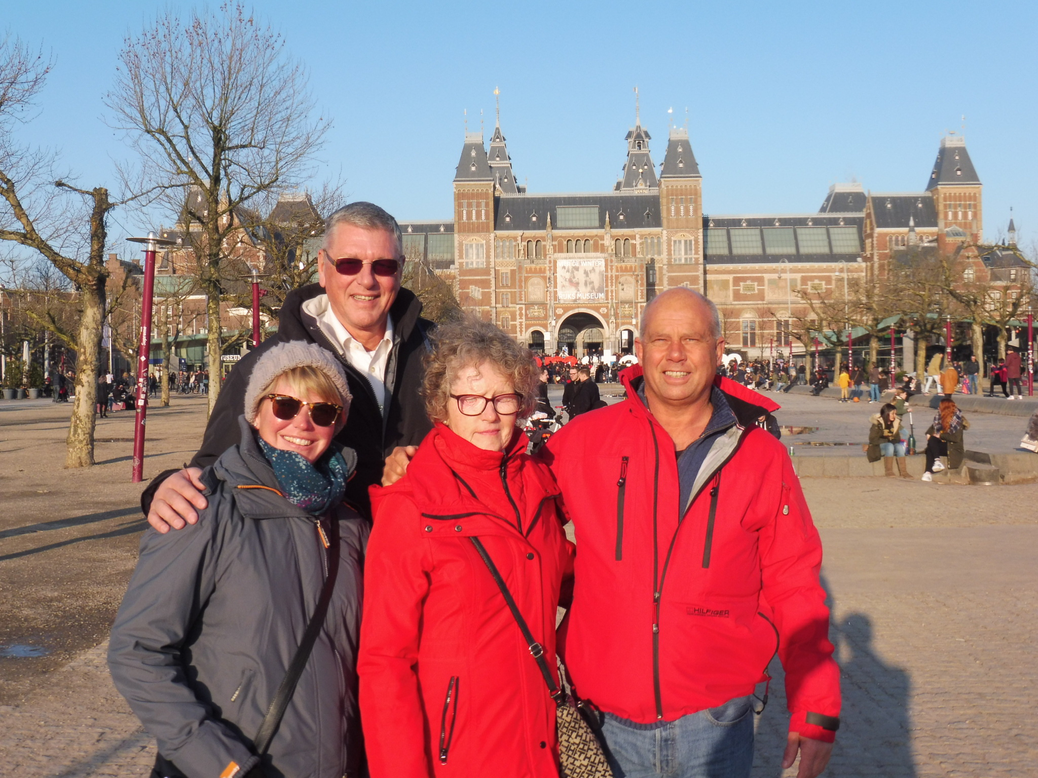 Amsterdam with Johan & Millie