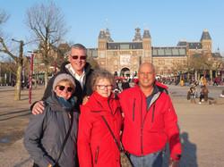 Amsterdam with Johan & Millie