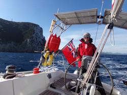 Sailing to Olbia