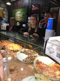 C. Pizza!