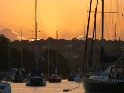 Sunset Falmouth.JPG