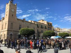 Licata Rubbish Protest