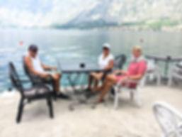 Enjoying a drink in Kotor.JPG
