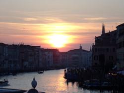 Sunsetting over Venice