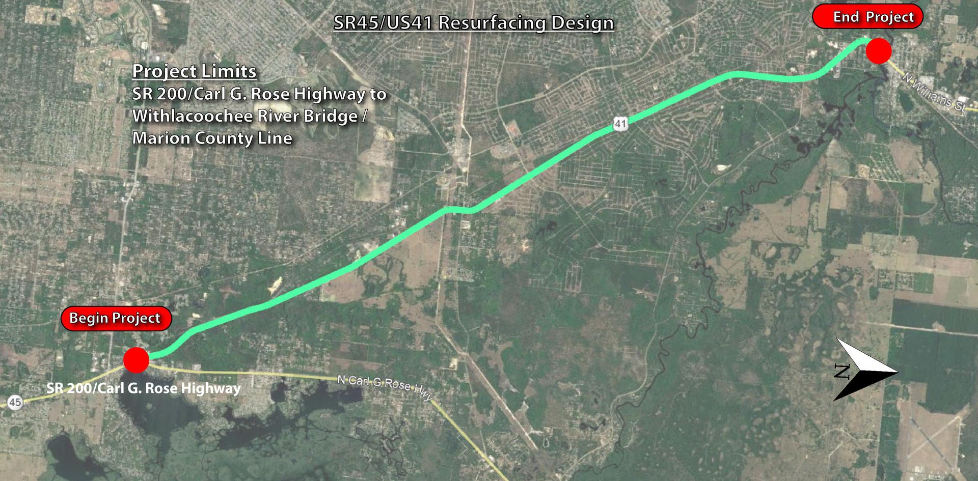 SR 45 / US 41 RRR