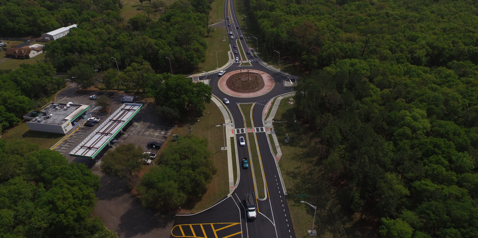 SR 44 Roundabout at Grand Avenue