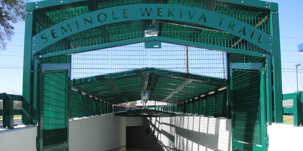 Seminole Wekiva Trail Ped Underpass
