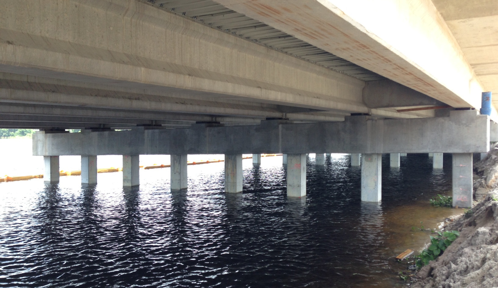 SR 50 over Lake Lotta - CSI