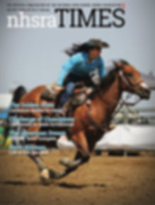 Marana and I on the cover of NHSRA Times.jpg
