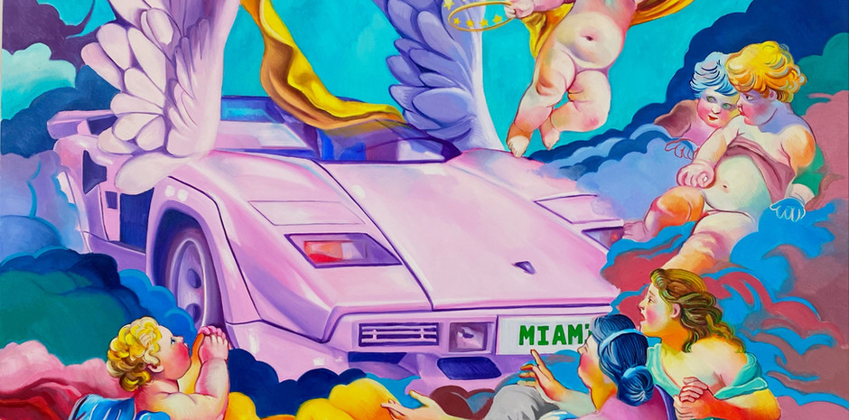 Winged victory of Miami