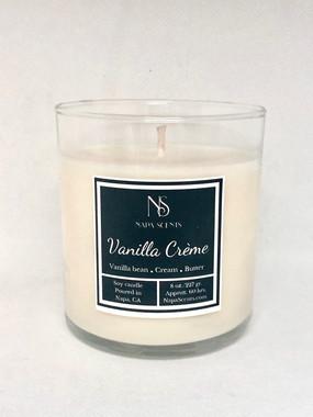 Vanilla Creme Jar Candle