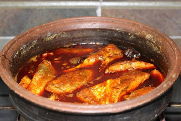 Meen Mulakittathu - Kerala Fish Curry