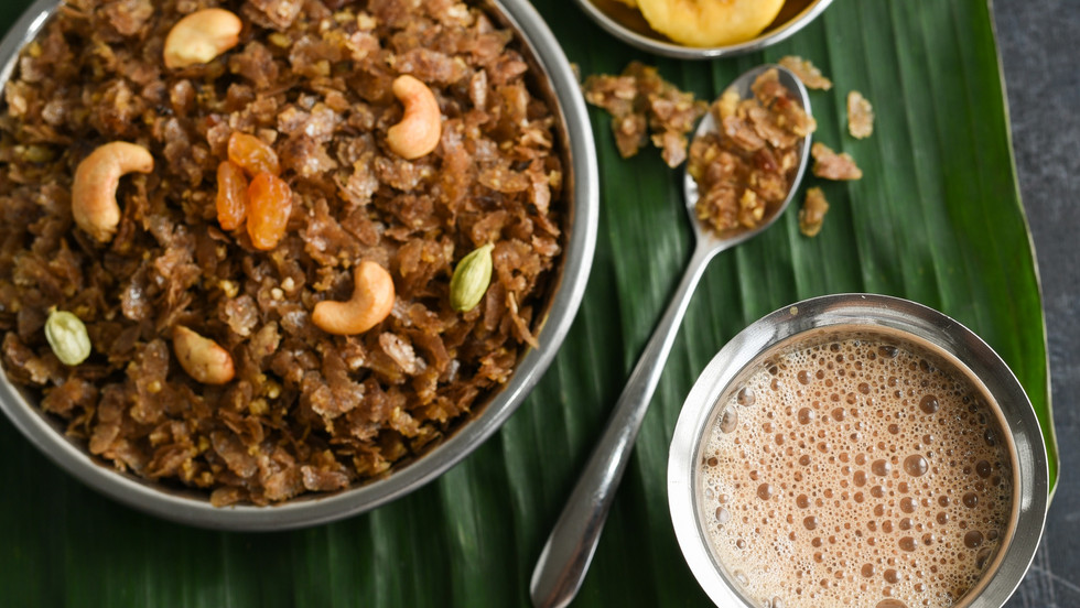 Aval with Fresh Grated Coconut