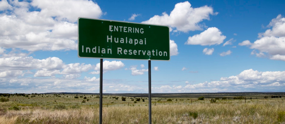 What we ate at Haulapai Indian Reservation