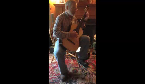 Bruce Bolnick - Classical Guitar student with Bob Wolfman
