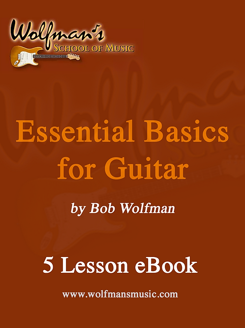 eBook- Essential Basics for Guitar (5 Lessons)