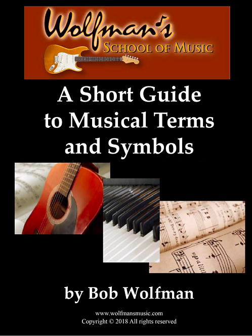 A Short Guide to Musical Terms and Symbols